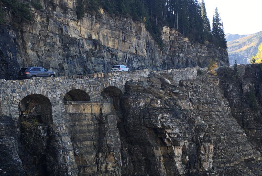 Going-to-the-Sun Road Glacier National Park @montanahappy.com