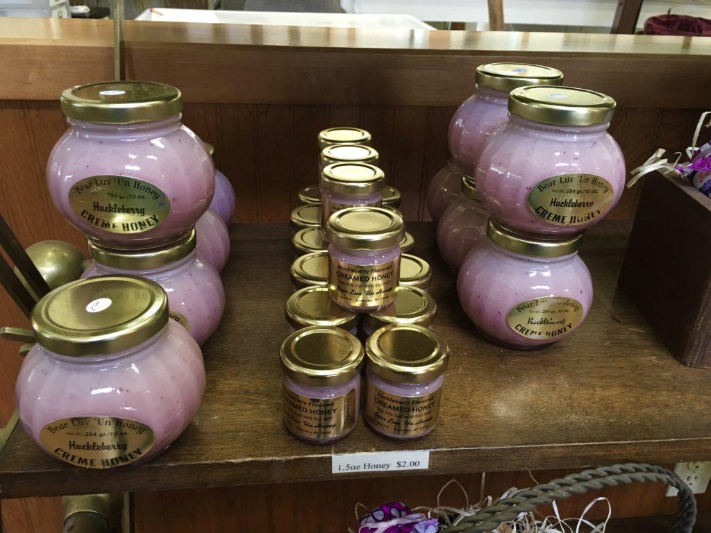 Huckleberry honey @montanahappy.com