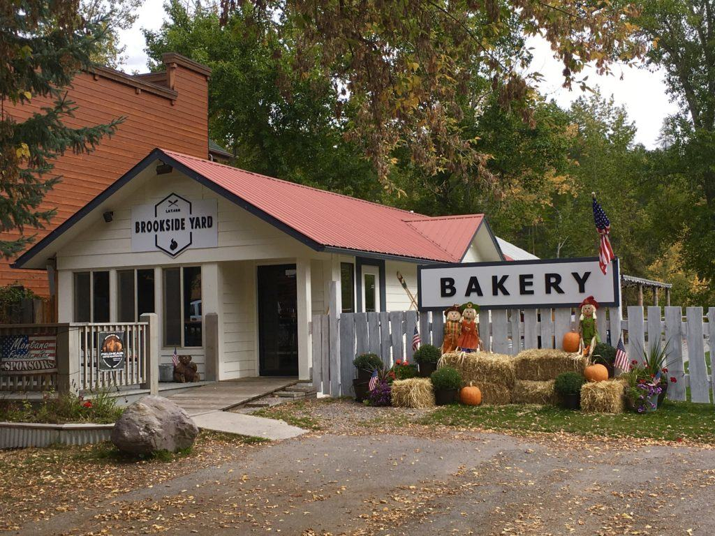 Brookside Yard Bakery on @montanahappy.com
