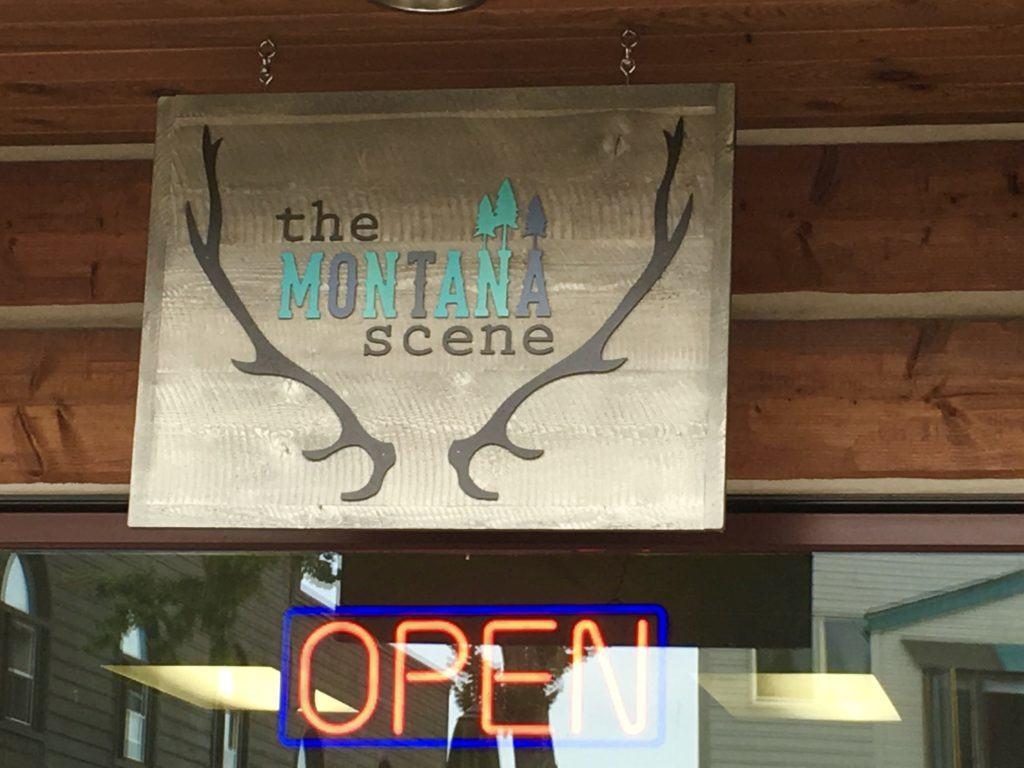 Montana Scene in Bigfork Montana @montanahappy.com