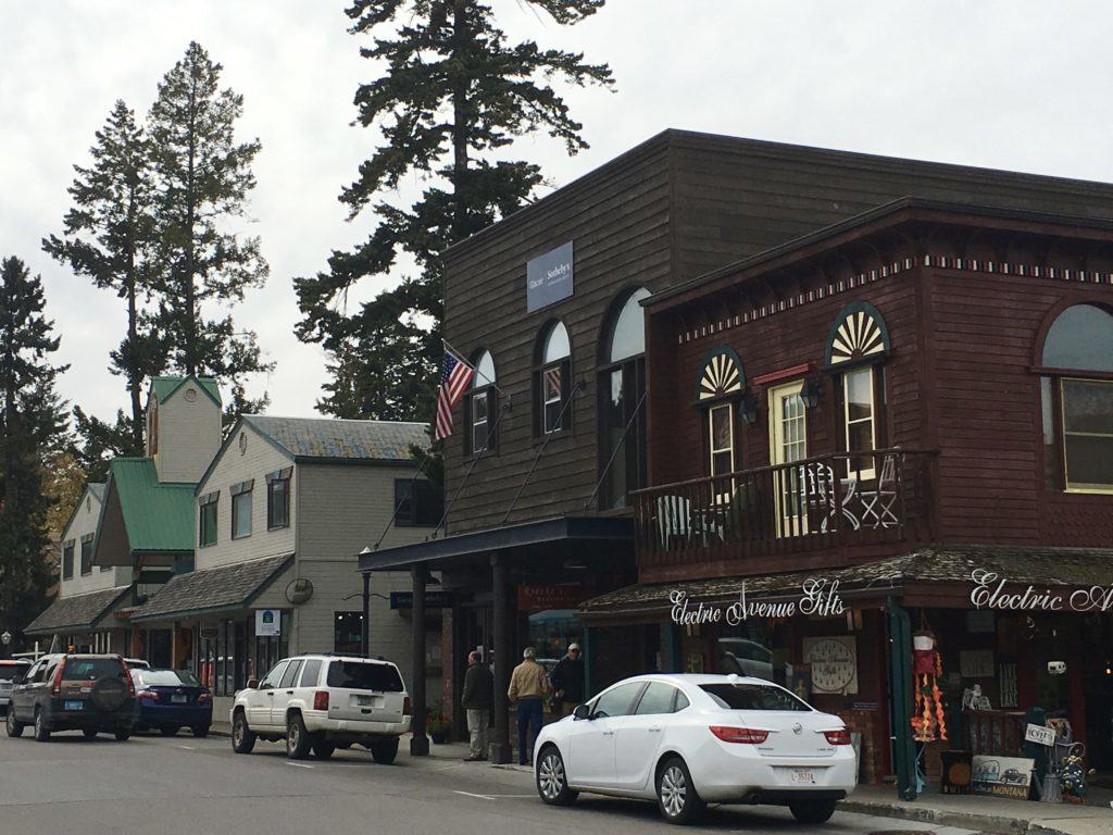 Downtown Bigfork Montana @montanahappy