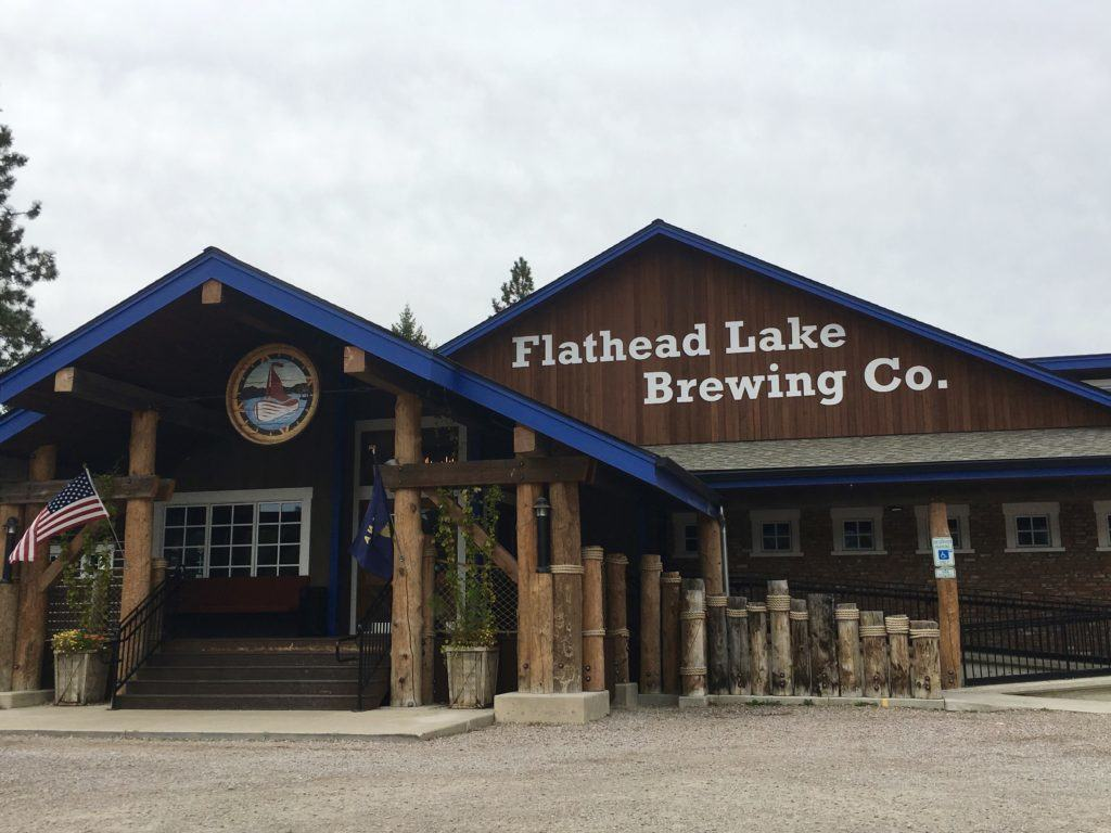 Flathead Lake Brewing Company @montanahappy.com