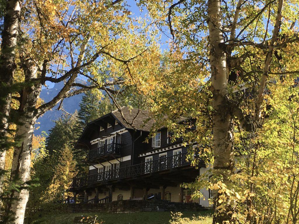 Lake McDonald Lodge Glacier National Park @montanahappy.com