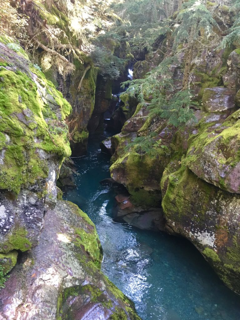 Avalanche Creek Glacier National Park @montanahappy.com