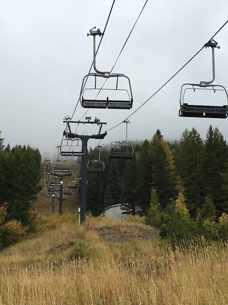 Whitefish Mountain Resort - Ski Lift in Whitefish Montana