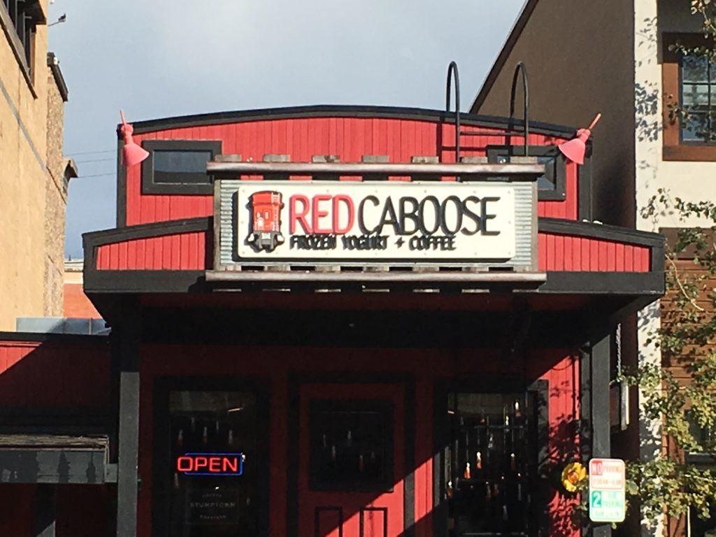 Red Caboose Frozen Yogurt & Coffee in Whitefish Montana