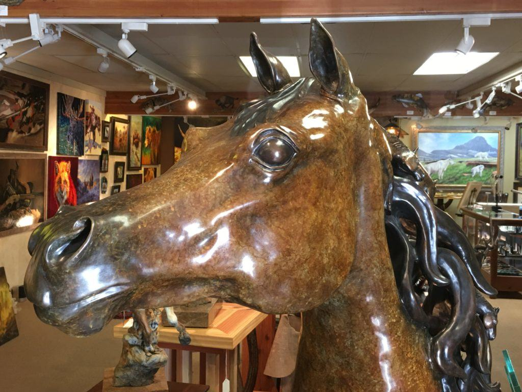 Going to the Sun Gallery in Whitefish Montana