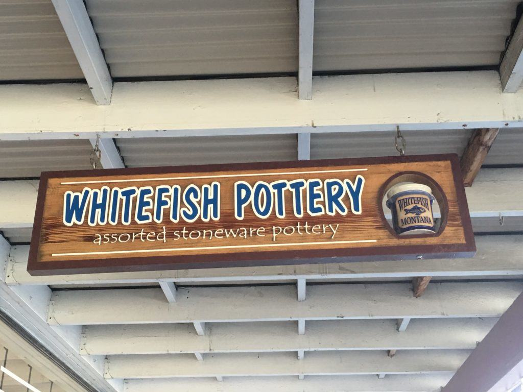 Whitefish Pottery in Whitefish Montana
