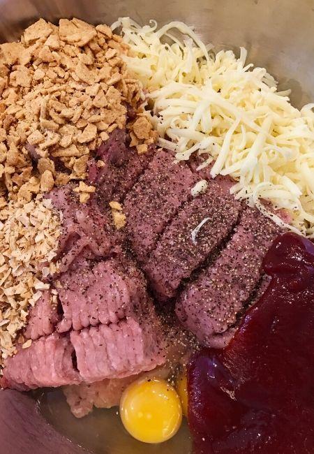 Valentine's Day Dinner Heart-Shaped Turkey Meatloaf Recipe