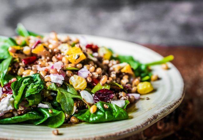 Ham Steak Sides - Seasonal Salad