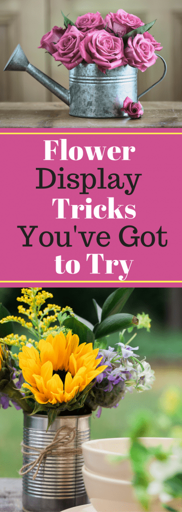 Flower Display Tricks You've Got to Try