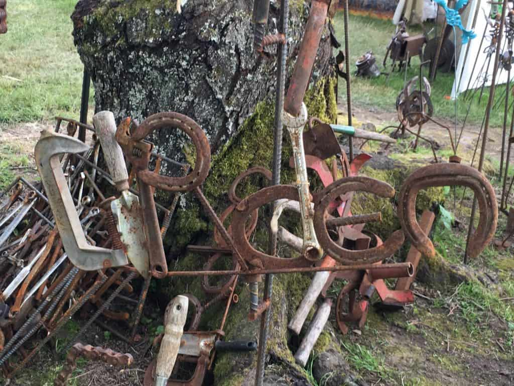 Charmant The Cutest Rustic Garden Art Ever