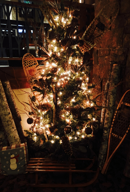 Creative Rustic Christmas Decorating Ideas