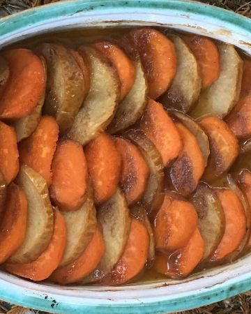 Rustic Sweet Potatoes and Apples