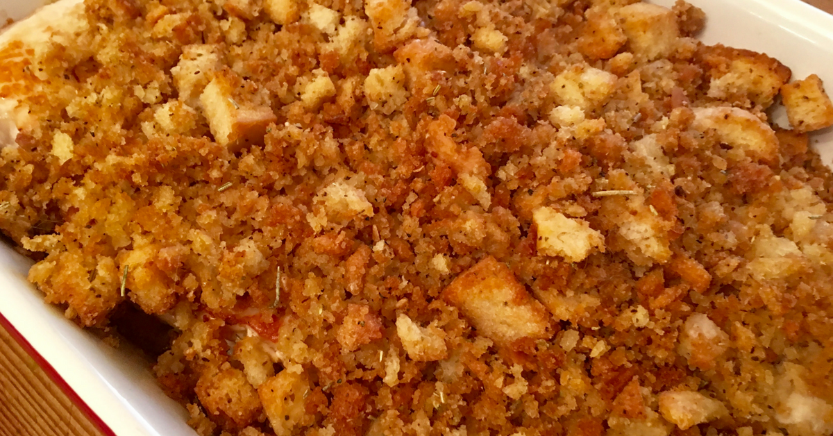 Prize-Winning Pork Chops with Apples and Stuffing