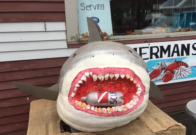 Damariscotta Pumpkinfest Halloween Pumpkin Art