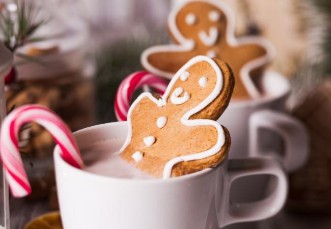 Hygge Christmas cocoa