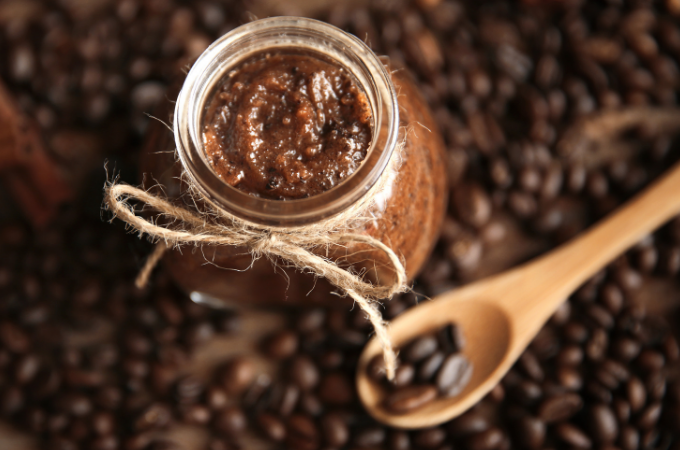 DIY Coffee Lover's Sugar Scrub