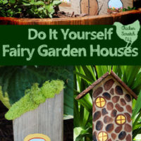 Make Fairy Houses from Scrap Wood and Craft Supplies