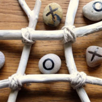 Driftwood Craft – Noughts and Crosses