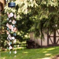 How to Make a Seashell & Sea Glass Wind Chime