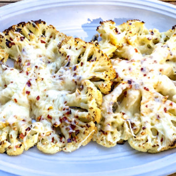 Parmesan Cauliflower Steaks