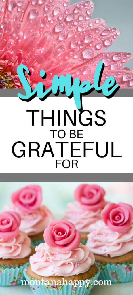 Simple Things To Be Grateful For