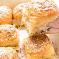 Ham and Cheese Sliders (Hot Ham and Cheese)