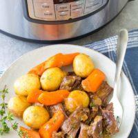 Instant Pot Pot Roast (Pressure Cooker Recipe)