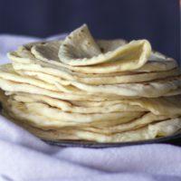 Soft Homemade Flour Tortillas {Butter Recipe} - Of Batter and Dough