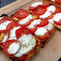 Quick Ciabatta Pizzas - simple & delicious! Fab Food 4 All