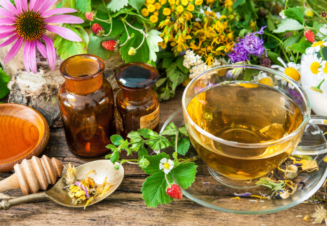 Grow Your Own Herbal Tea Garden