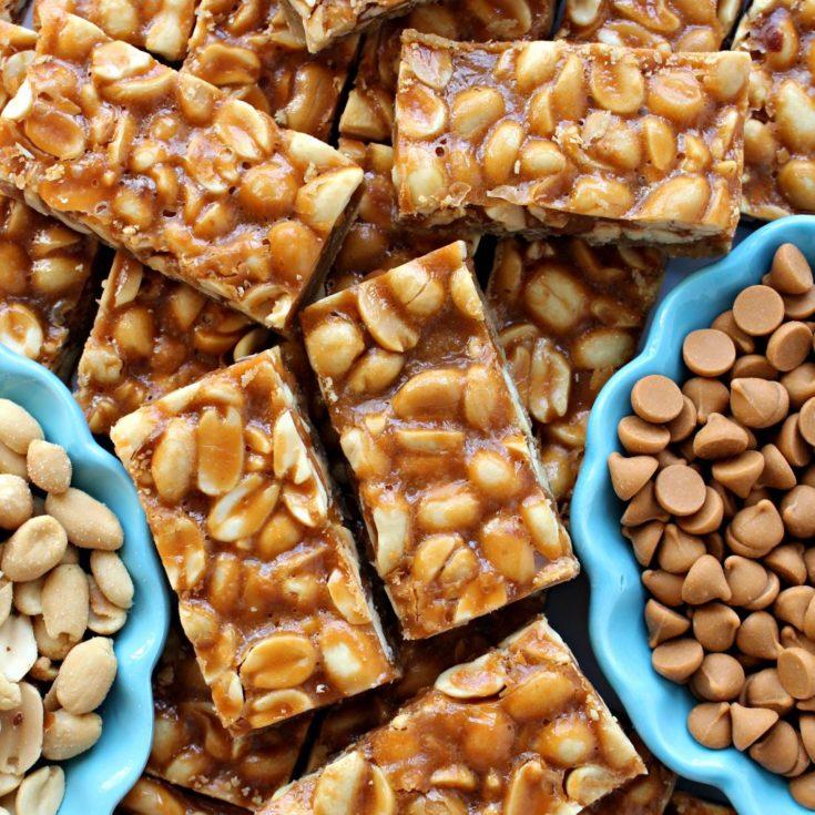 Butterscotch Peanut Bars - The Monday Box