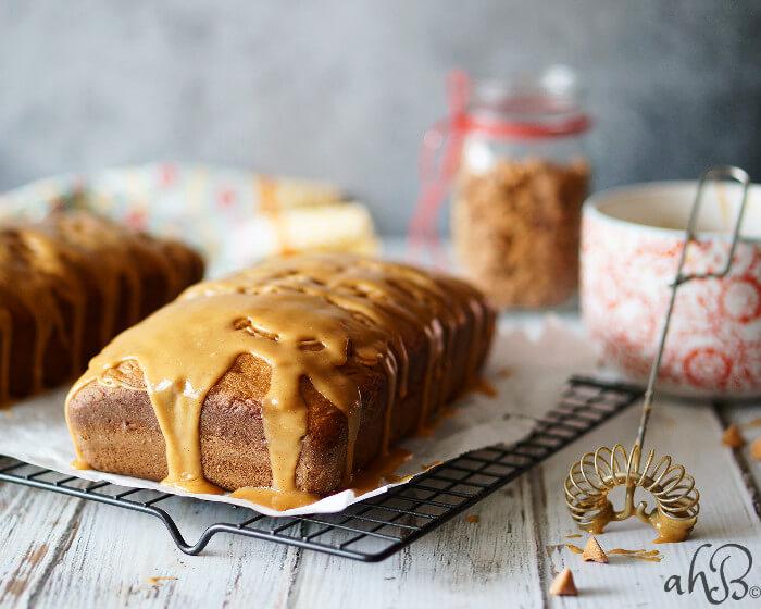 Triple Butterscotch Pound Cake