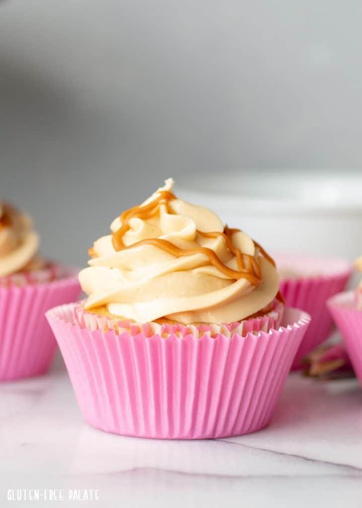 Gluten-Free Butterscotch Cupcakes