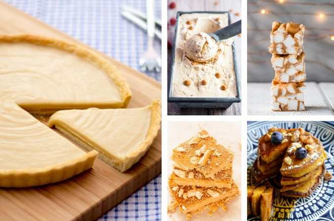 Easy Homemade Butterscotch Recipes - cookies, cakes, pies and pudding are all here in this list. #butterscotch #butterscotchrecipes
