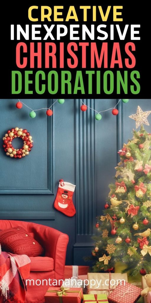 Creative Inexpensive Christmas Decorations