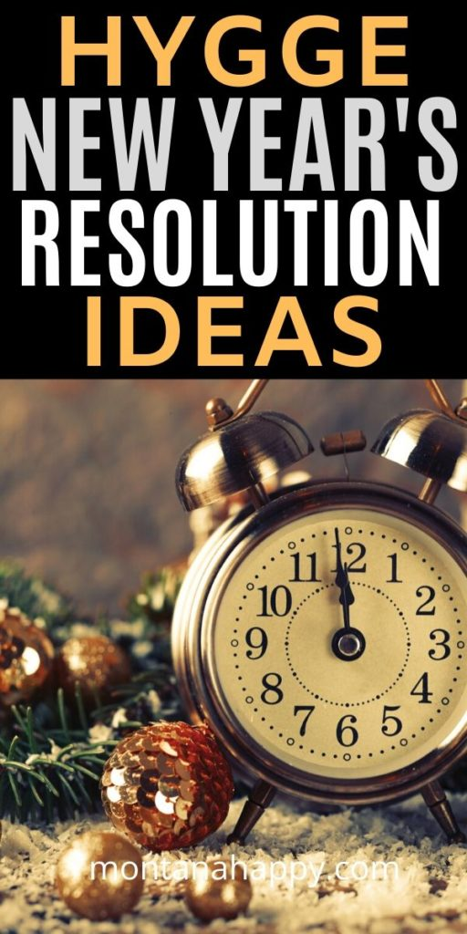 Hygge New Year's Resolution Ideas