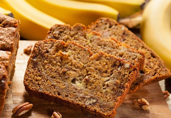 Old Fashioned Banana Bread Recipe