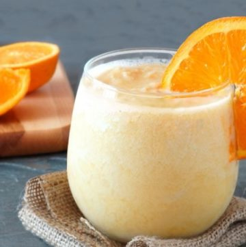 Orange Banana Dreamsicle Smoothie