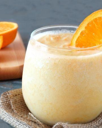 Orange Banana Dreamsicle Smoothie