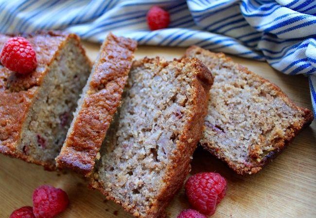 Chocolate Fondue Dippers - Fruit bread