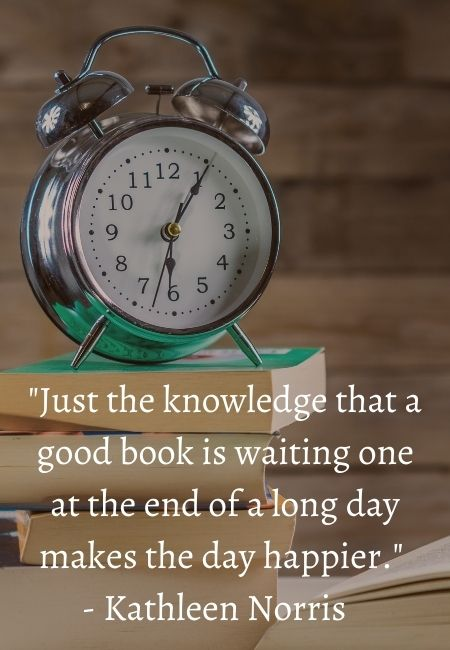 Book Lover Quotes - Kathleen Norris