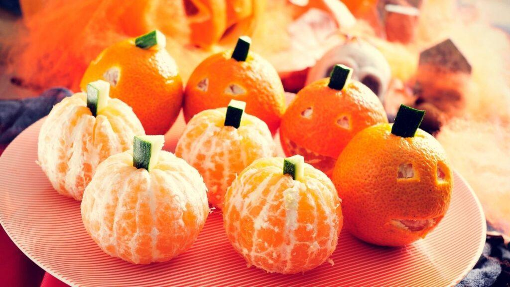 Halloween Oranges two ways
