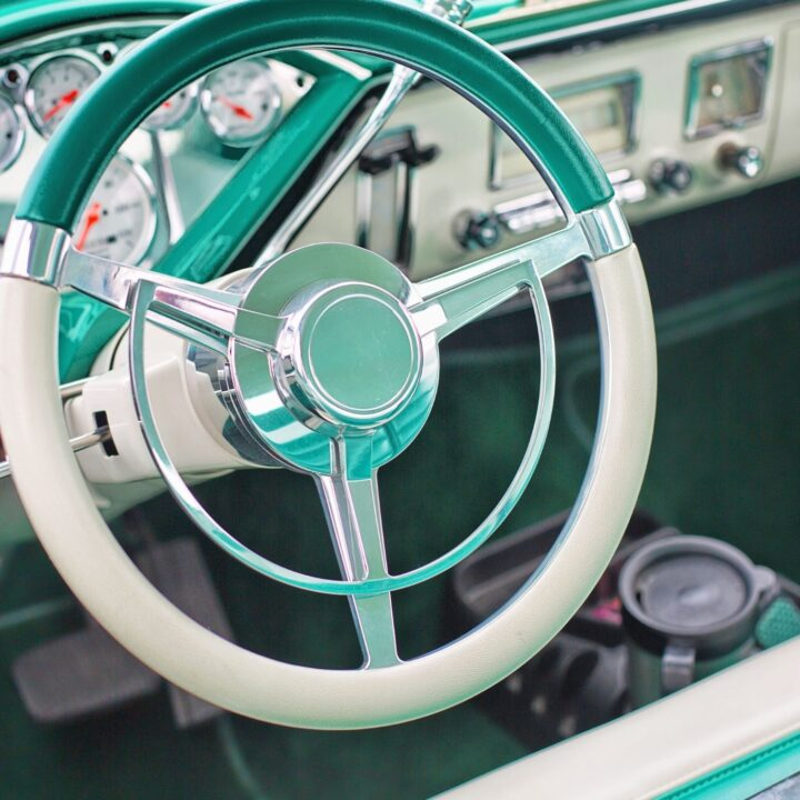 How to Hygge Your Vehicle - Interior of a vintage car's dash